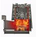 Печь для бани стальная Grill'D Cometa 350 Vega Window Max