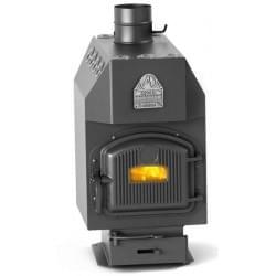 Воздухогрейный котел TMF-Термофор Студент уголь с чугунной дверцей