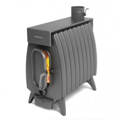 Печь TMF-Термофор Огонь-Батарея 9 лайт антрацит для дома и дачи