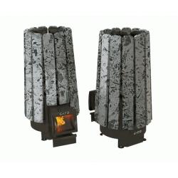 Стальная печь для бани Grill'D Cometa 180 Vega Short Stone
