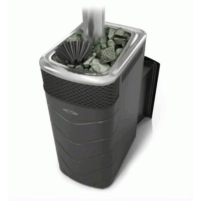 Печь для бани стальная Термофор (TMF) Гейзер XXL 2017 Carbon Витра ЗК антрацит