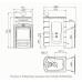 Печь для бани стальная Термофор (TMF) Гейзер 2014 Carbon Витра ЗК антрацит