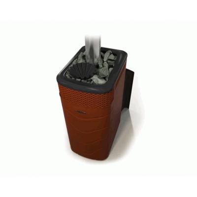 Печь для бани стальная Термофор (TMF) Гейзер XXL 2017 Inox Витра ЗК терракота