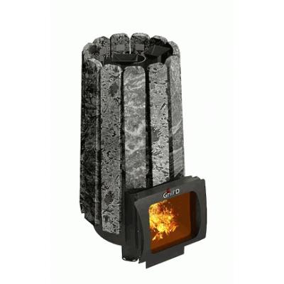 Печь для бани стальная Grill'D Cometa 180 Vega Short Window Max Stone