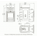 Печь для бани стальная Термофор (TMF) Гейзер 2014 Inox ДА КТК ЗК терракота