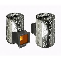 Печь для бани стальная Grill'D Violet Long Window Max (Жадеит 80 кг)