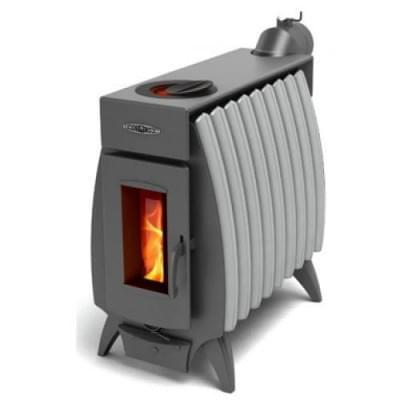 Печь TMF-Термофор Огонь-Батарея 9 антрацит-серый металлик для дома и дачи