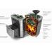 Печь для бани стальная Термофор (TMF) Гейзер Мини 2016 Inox ДН ЗК ТО антрацит