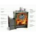 Печь для бани стальная Термофор (TMF) Ангара 2012 Carbon Витра ЗК антрацит