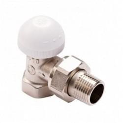 """Вентиль для радиатора термостатический угловой ½"""" Armatura 752-160-07"""
