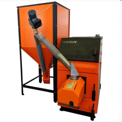 Пеллетный котел GTM Комфорт 20 кВт с горелкой UNI 16 кВт
