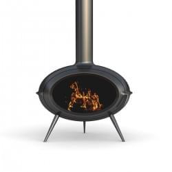 Чугунная печь-камин Invicta Brio