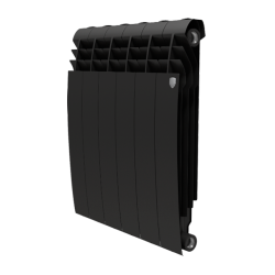 Биметаллический радиатор отопления Royal Thermo Biliner Noir Alum 500
